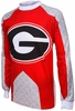 Georgia Bulldogs Long Sleeved Bike Jersey
