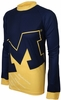 Michigan Wolverines Long Sleeved Bike Jersey