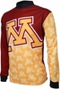 Minnesota Golden Gophers Long Sleeved Bike Jersey