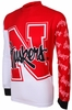 Nebraska Cornhuskers Long Sleeved Bike Jersey