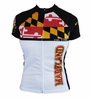 Maryland Flag Women's Cycling Jerseys