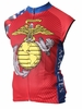 US Marine Corps Sleeveless Cycling Jersey