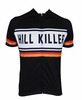 Hill Killer Black Retro Cycling Jersey