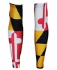 Hill Killer Maryland Flag Arm Warmers