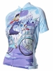Riding in Paris Women's Cycling Jersey