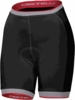 Castelli Women's Perla Black Cycling Shorts With Free Shipping