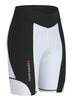 Louis Garneau Women Fit Sensor 7.5 Black/White Cycling Shorts Free Shipping