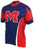 Ole Miss Running Rebels Cycling Jersey Free Shipping