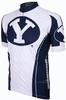 Brigham Young University Cougars Cycling Jersey Free Shipping