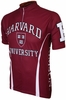 Harvard University Crimson Cycling Jersey Free Shipping