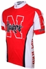 University of Nebraska Cornhuskers Cycling Jersey Free Shipping