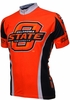 Oklahoma State University Cowboys Cycling Jersey Free Shipping