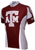 Texas A&M University Aggies Cycling Jersey Free Shipping