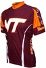 Virginia Tech Hokies Cycling Jersey Free Shipping