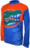 Florida Gators Long Sleeved Bike Jersey