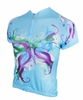 Splatter Butterly Women's Cycling Jersey