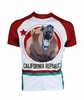 California Republic Bear Flag Cycling Jersey