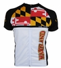 Hill Killer Maryland Flag Tall Extra Long Cycling Jersey