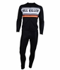 Hill Killer Retro Black Long Sleeve Cycling Jersey and Tights Kit