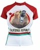 California Republic Bear Flag Women's Cycling Jersey