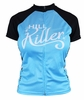 Hill Killer Retro Atomic Stars Women's Cycling Jersey