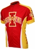 Iowa State Cyclones Cycling Jersey Free Shipping