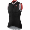Castelli GPM Sleeveless FZ Cycling Jersey Black