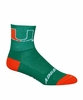 University of Miami Cycling Socks