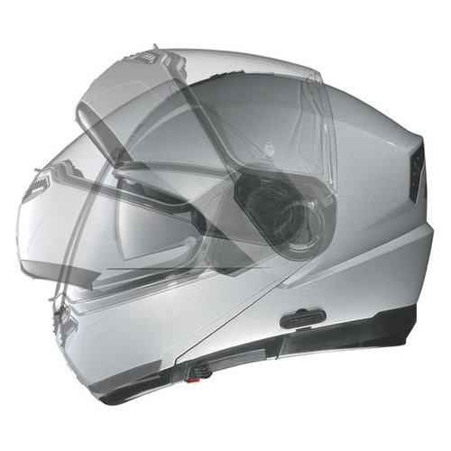 Nolan N104 N-COM Modular Helmet Solid Color. Made in Italy