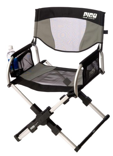 Pico Deluxe Folding Arm Chair Sage Gray