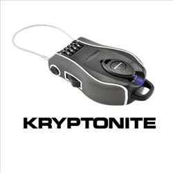 Kryptonite R4 Retractable Helmet Lock with LED Light