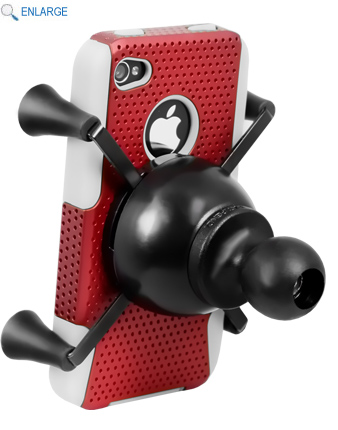 RAM Mount Universal X-Grip Holster Cradle with Ball for I-Phone / Smartphone / GPS