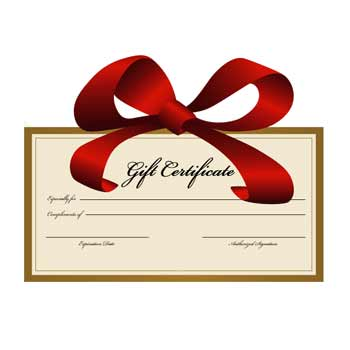 $75 Adventure Designs Gift Certificate