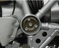 Weiser Swing Arm Pivot Pinion Cover for R1200GS/A Oil Cooled