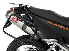 Remus SportExhaust KTM 950/990 Adventure Roxx 2 into 1 Slip-On with Titanium Finish + Free USA Shipping