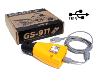 GS 911 BMW Computer Fault Code Reader: Enthusiast Version with USB Only Capability