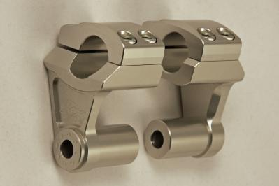"ROX Deluxe Adjustable / Pivoting Handlebar Risers 7/8"" by 7/8"" (22mm, Buell friendly)"