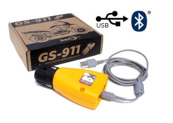GS 911 BMW Computer Fault Code Reader: Professional Version with Bluetooth & USB Capabilities