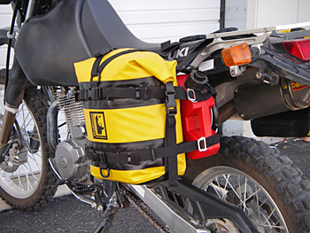 RotoPax Fuel or Water Mounting System for Wolfman Luggage Racks
