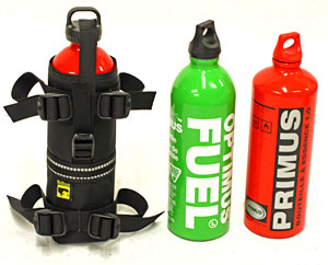 Wolf Fuel Bottle Holster by Wolfman Luggage. MADE IN USA. LIFETIME WARRANTY.
