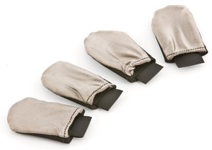 Farkle Fingers: Touchscreen Friendly Glove Finger Tips (4 pieces)