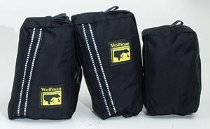 Wolfman Large Pockets for Ranier & Explorer Tank Bags by Wolfman Luggage. MADE IN USA. LIFETIME WARRANTY