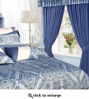 "Tribeca Living ""Atlantis"" 6-Piece Curtain Set"