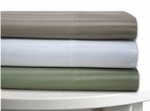 Tribeca Living Stripe 600 Thread Count Cotton Rich Deep Pocket Sheet Set