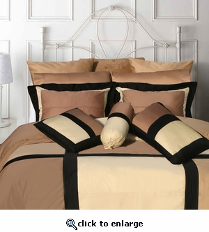 "Tribeca Living ""Sahara"" 7-Piece Cotton Comforter Set"