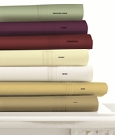 Tribeca Living Egyptian Cotton 500 Thread Count 6-Piece Extra Deep Fitted Sheet Set