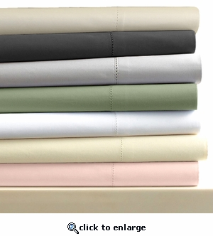 Tribeca Living Egyptian Cotton Sateen 600 Thread Count Pillowcases