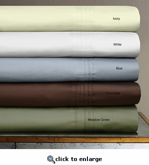 Tribeca Living Egyptian Cotton 700 Thread Count Extra Deep Pocket 6-Piece Sheet Set by Tribeca Living