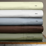 Egyptian Cotton 700 Thread Count Extra Deep Pocket Sheet Set by Tribeca Living