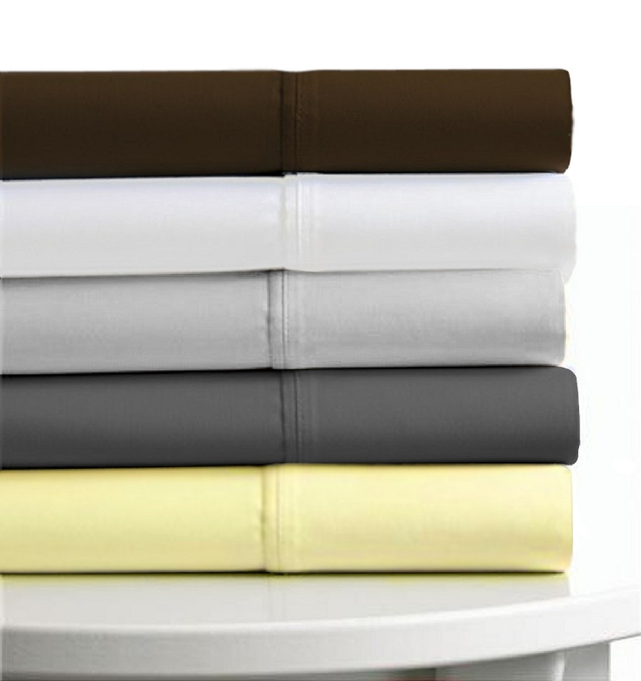 Tribeca Living Egyptian Cotton 600 Thread Count 6 Piece Extra Deep Fitted  Sheet Set
